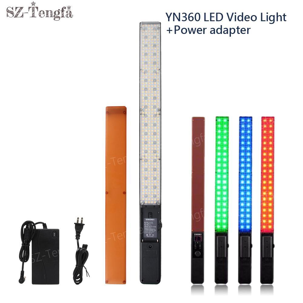 yongnuo yn360  2019 YONGNUO YN360 3200 5500k RGB Colorful Handheld LED Video Light ...