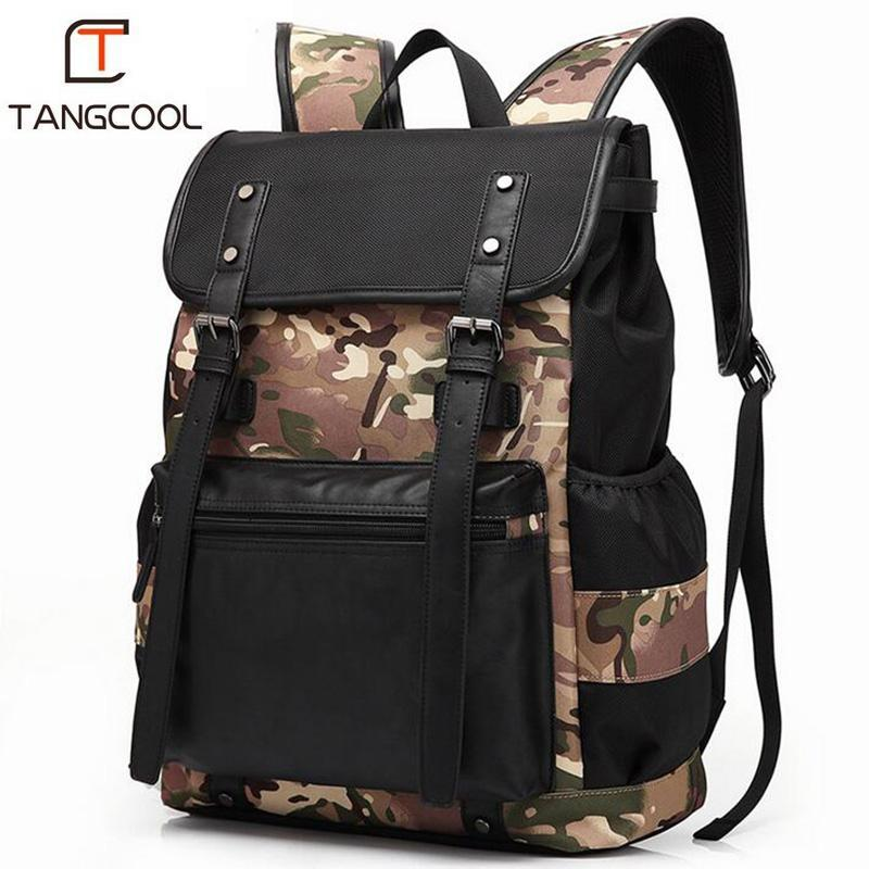 Tangcool 2018 New Men s Backpack Multi-Function Travel Designer ... eb581aa454889