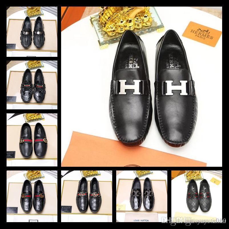 fd26d51a869 Best New Style Luxury Brand Designer Men Glitter Comfortable Medusa Shoes  Man S Formal Dress Shoes For Groom Wedding Size EUR 38 45 Boots Shoes White  ...