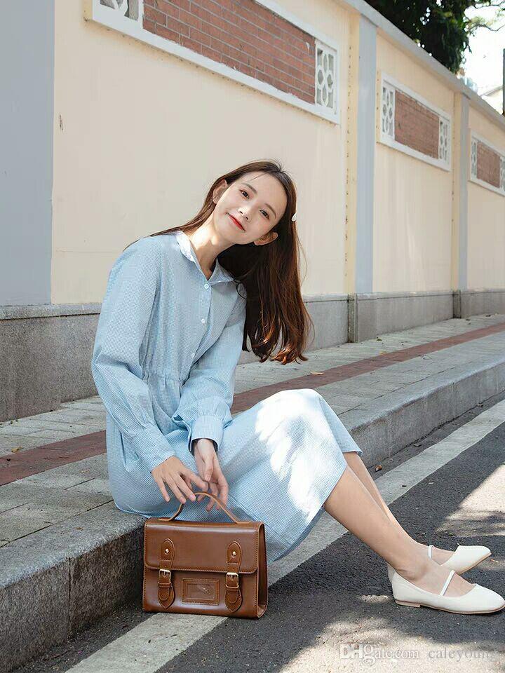 Grosshandel Pphome Rock Dunnes Langarmeliges Kleid Frau 2018