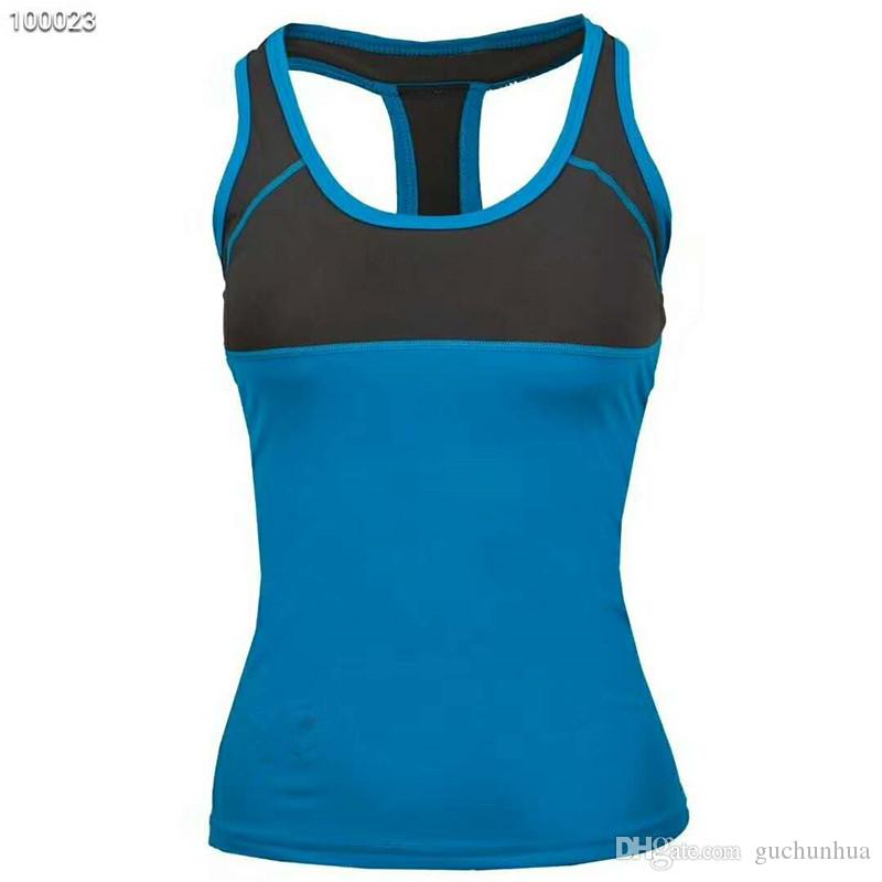 Mulheres respiráveis esportes ao ar livre camisetas de alta qualidade senhoras colete coolmax quick dry girls caminhadas camisas de t roupas de marca de ioga