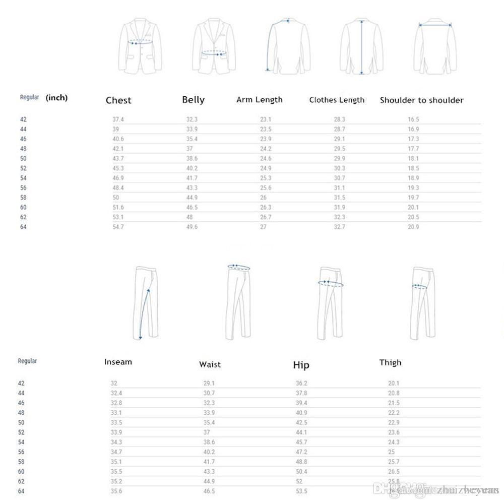 2018 Barato Custom Made Dark Navy Boda Tuxedos Slim Fit Hombre Trajes Padrinos de boda Traje de tres piezas Traje formal chaqueta + chaleco + hormigas
