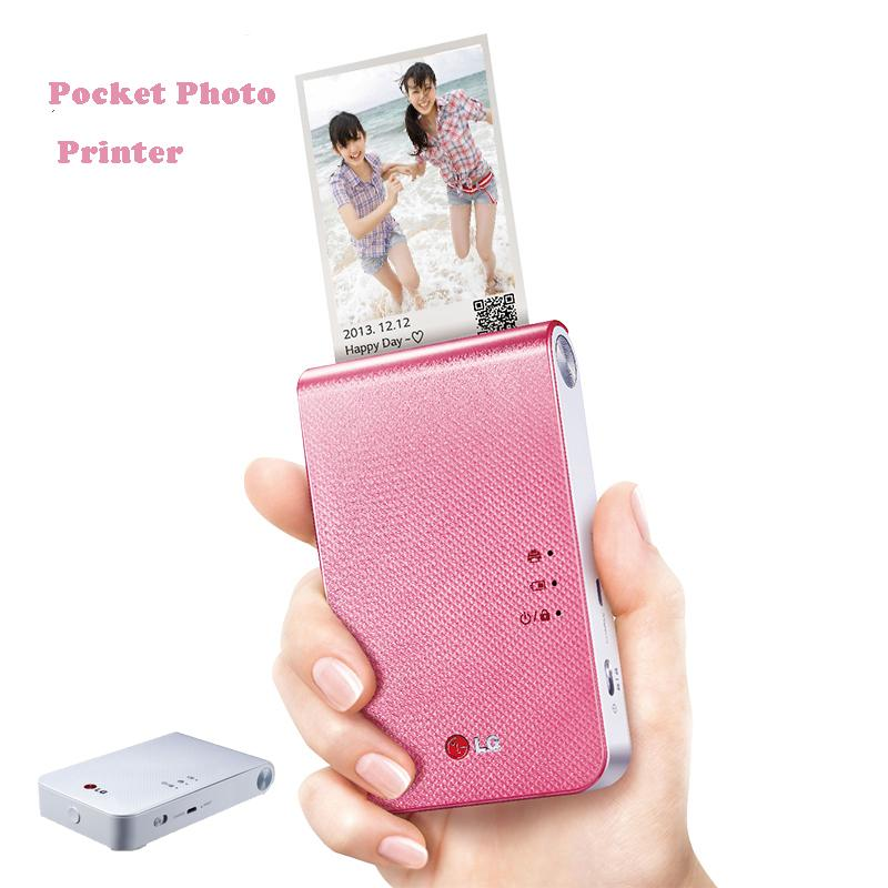 Pd239 Bluetooth Wireless Smartphone Cell Photo Printer Color Pocket