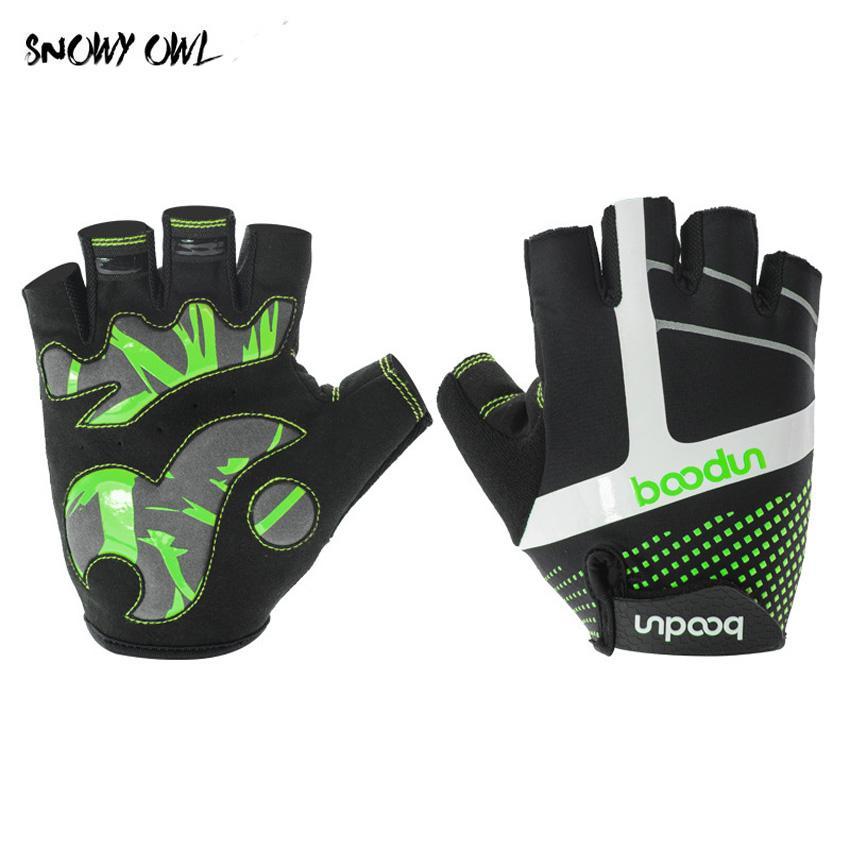 2018 Men s Cycling Gloves Half Finger Men Women Antislip Wear ... dbea23aa87
