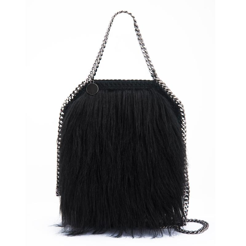 christmas bag new woman fashion handbags trend messenger bag plush women bag leisure - Christmas Purses Handbags