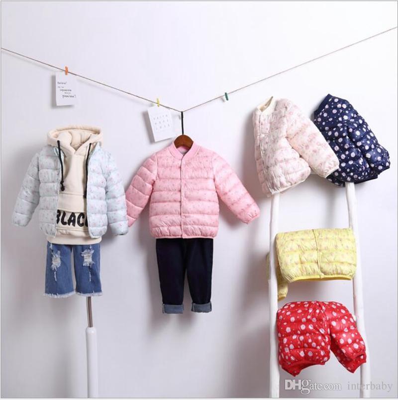 5bdd9f81f Kids Down Coat Girl Long Sleeve Overcoat Boys Winter Warm Outerwear ...