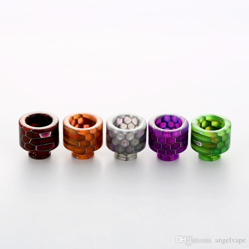 NEW 510 drip tip vape mouthpiece 510 Thread Epoxy Resin TFV8 baby drip tips mouthpieces for TFV8 baby RDA Atomizer