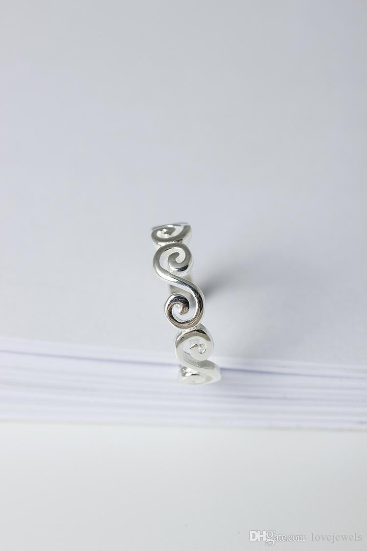 Original adjustable charm Jewelry fashion sterling silver 925 ring Clouds are sweet and beautiful woman open rings china direct wholesale