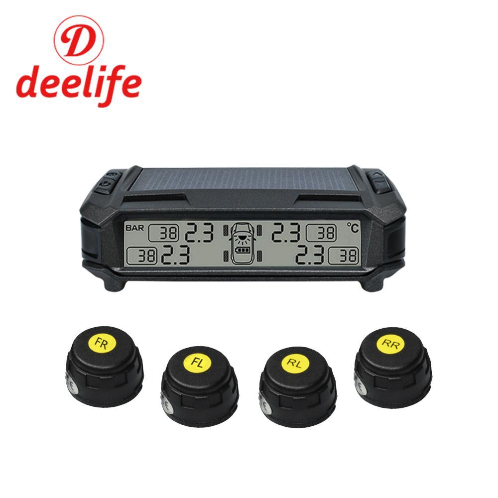 Tire Pressure Monitor >> 2019 Deelife Solar Tpms Car Tire Pressure Monitoring System