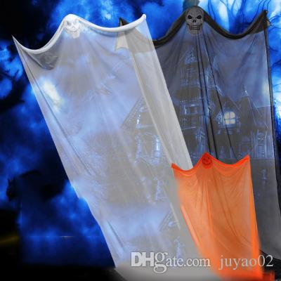 8bd48f9d6b Compre Halloween Ghost Festival Decoraciones Horror Props Bares KTV Mall  Supermercado Haunted House Hanging Ghosts Hanging Ghosts A $20.29 Del  Juyao02 ...