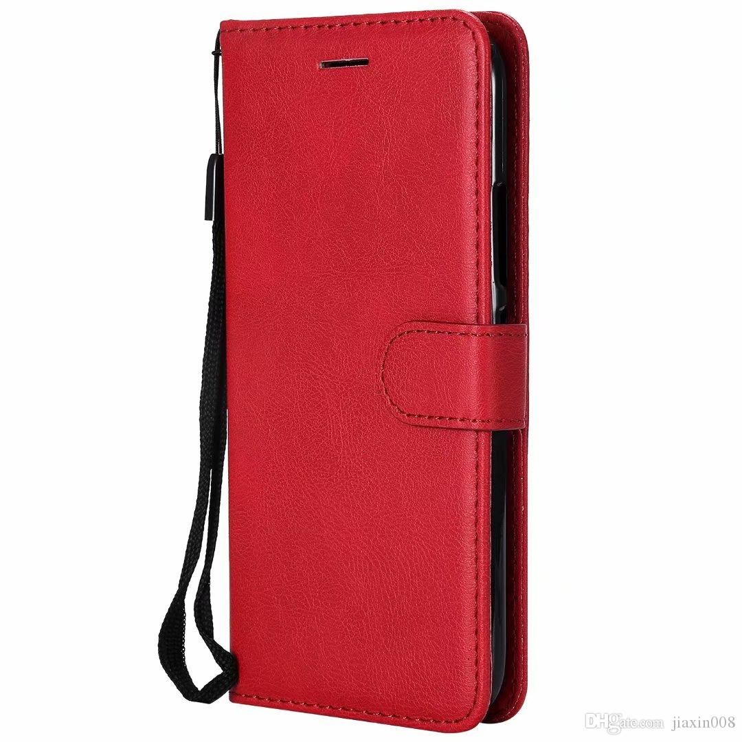 Wallet Case For Motorola Moto G5 Plus Flip back Cover Pure Color PU Leather Mobile Phone Bags Coque Fundas For Moto G5 Plus