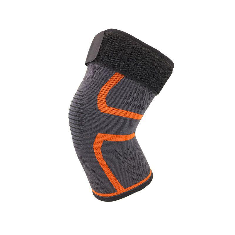 Nylon Basketball Sleeve Leg Sports de plein air Bicycle Running 4E Manches de compression Stretch Legging Support Genouillère antidérapante