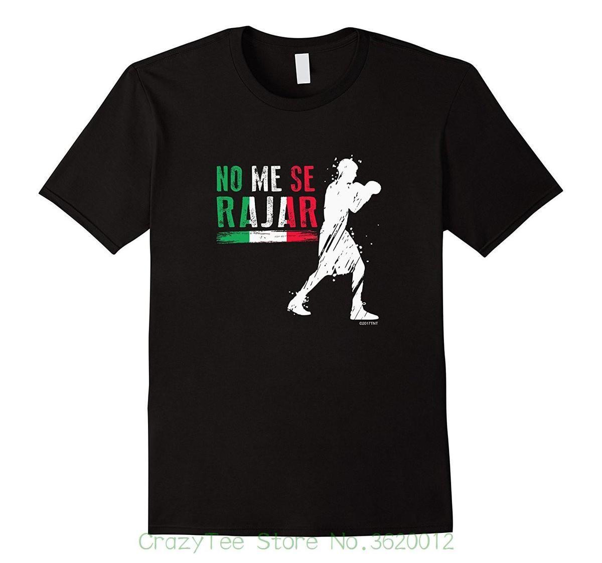 Compre Calidad Imprimir Nuevo Verano Estilo Algodón México Boxer No Me Se  Rajar Orgullo Mexicano Mejor Precio Camiseta A  11.87 Del Liguo0032  b01e0e8e4e3d1