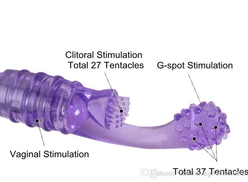 Impermeabile Finger Shape G-point Vibratore Squirt Rocket Tickler Pocket Rocket G-spot Clitoride Stimolare Con Vendita Al Dettaglio Pakcage