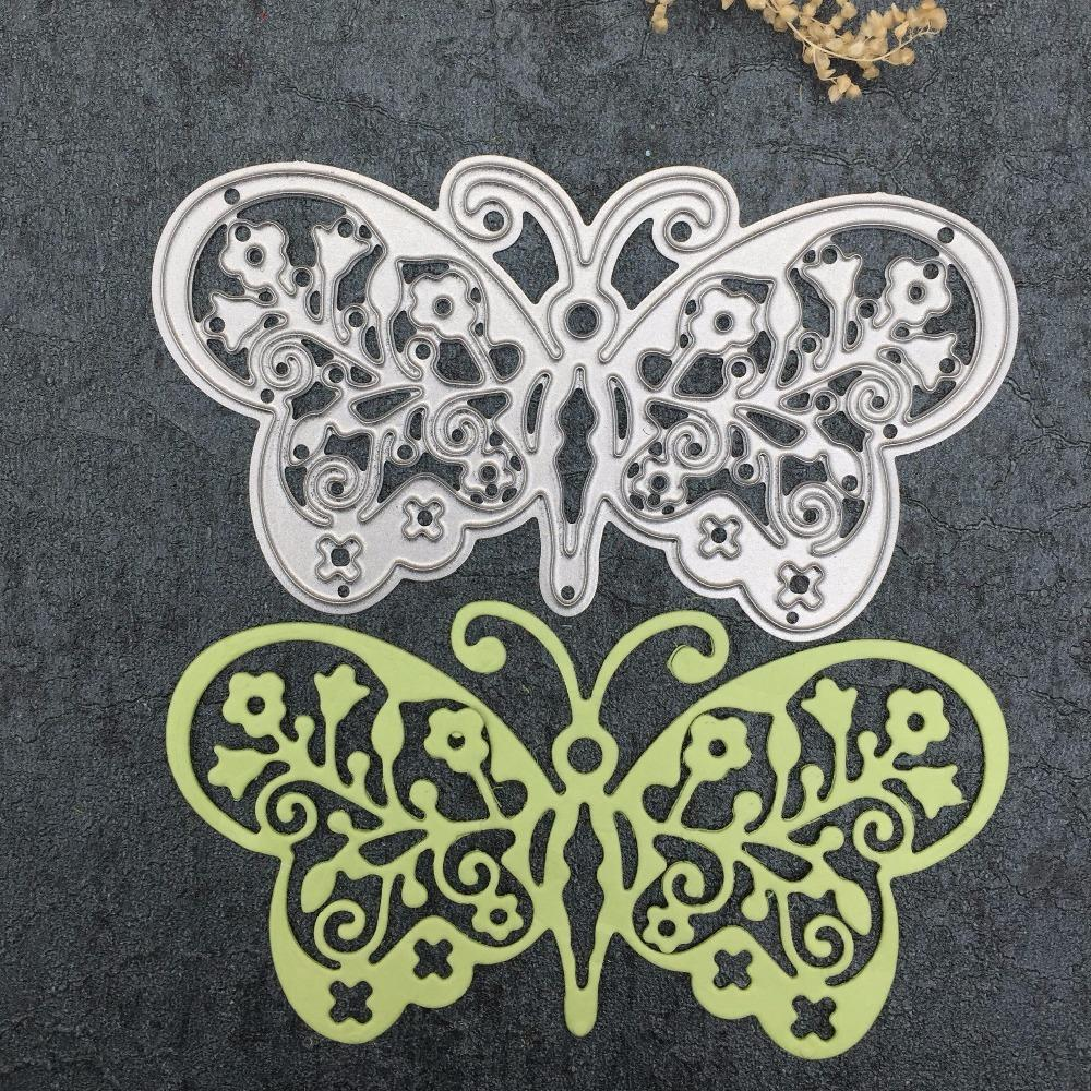 Scrapbooking Dies Metal Wedding Flower Door For Embossing Folder Die