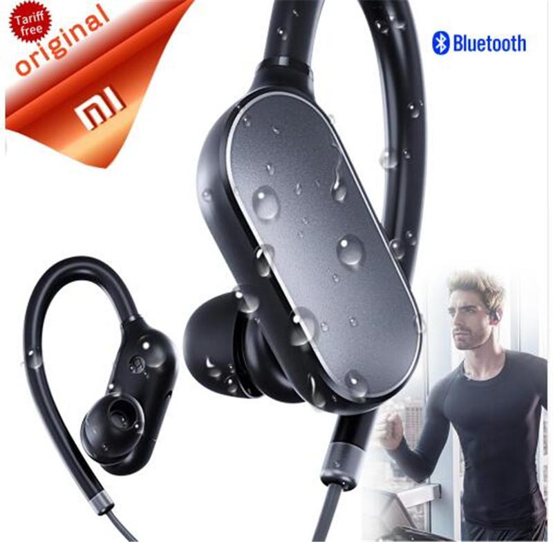 ba12db33ed6 24hours Ship Black Origina Xiaomi Sport Bluetooth Earphone Stereo Headset  Waterproof Wireless Bluetooth Headphone PK Meizu EP51 Wireless Sport  Headphones ...