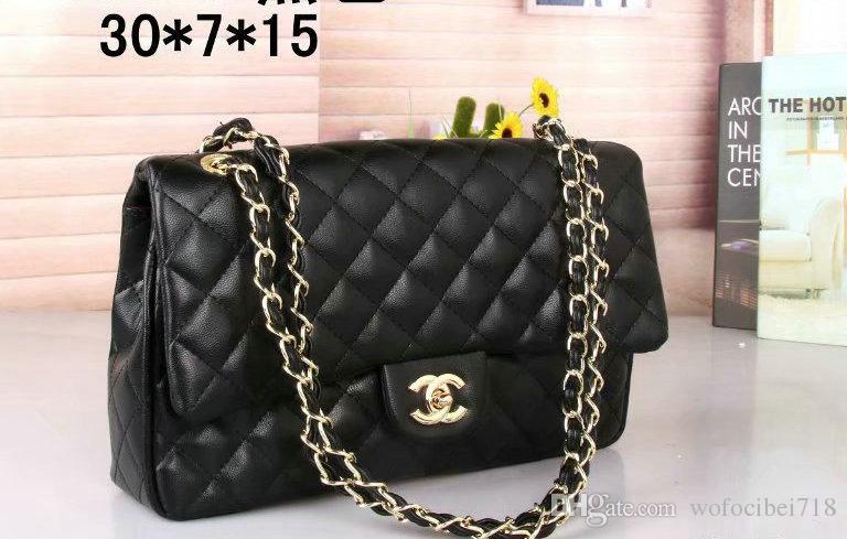 1e63c3d145 Hot 2018 NEW Sale Fashion Vintage Handbags Women Bags Designer Handbags For  Women Leather Chain Bag Crossbody And Shoulder Bags AAA Designer Purses  Satchel ...