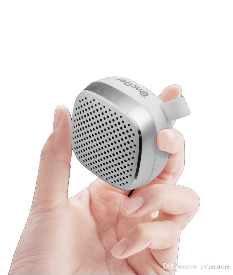 Taşınabilir Mini Hoparlör Bluetooth V4.2 Kablosuz Hoparlör Stereo Ses Yüksek Kalite Destek TF Kart Aux ile Perakende Paketi