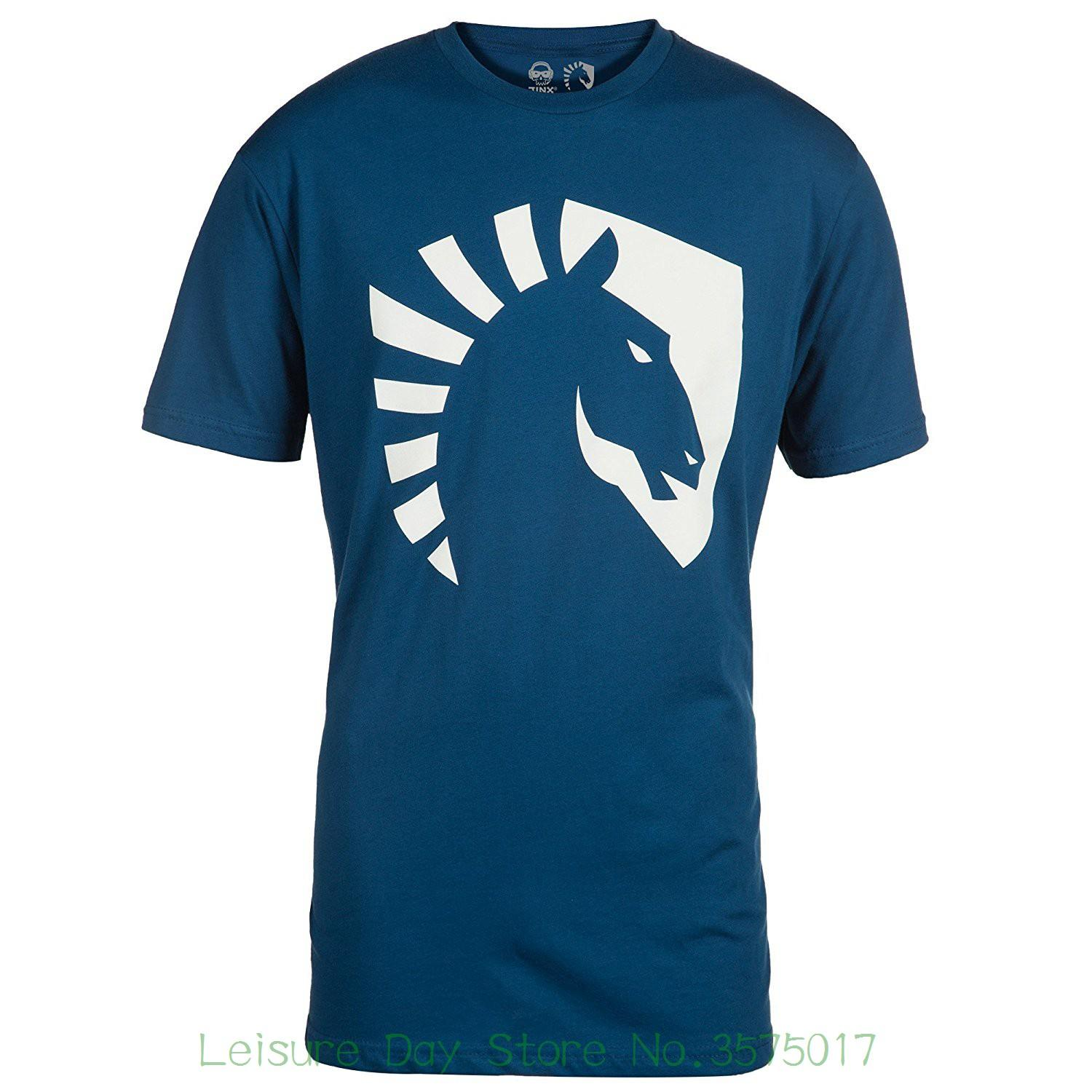 d0f1505f Good Quality Brand Cotton Shirt Summer Style Cool Shirts Team Liquid Men's  Horse Logo Discount Wholesale T-shirt Online with $28.54/Piece on  Fugarstore's ...