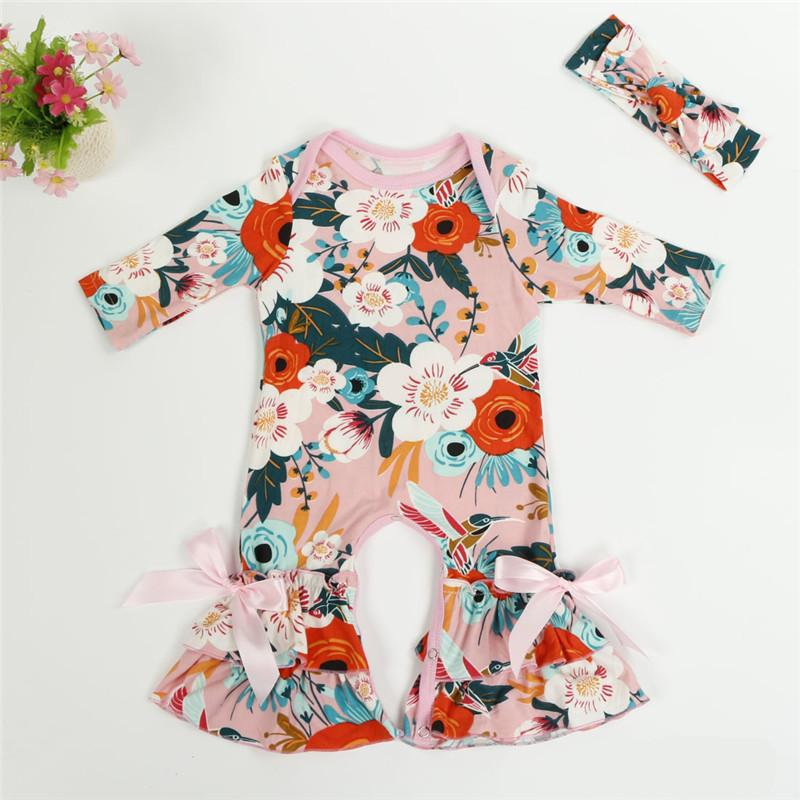 0a08b73d4321 2019 Autumn Boutique Infant Toddler Clothes Long Sleeve Baby Icing ...