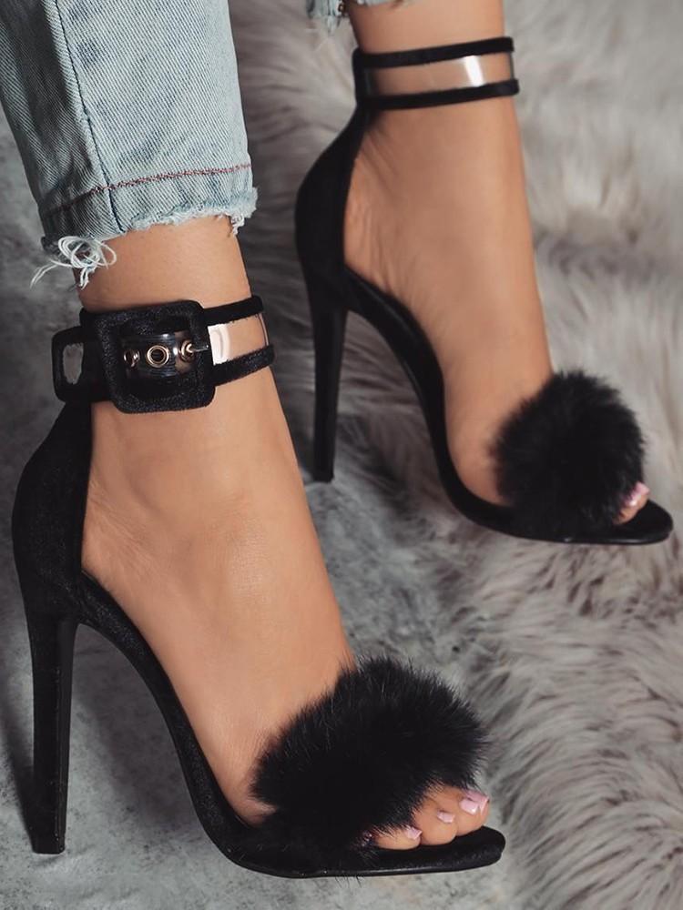 08b75263d59 Compre Zapatos Mujer Tacones Para Mujer Tacones De Aguja Para Mujer Moda  Arco De Piel Highsoft Siesta Zapatos Tacones Gruesos Pums Para Mujer De Piel  Alta ...