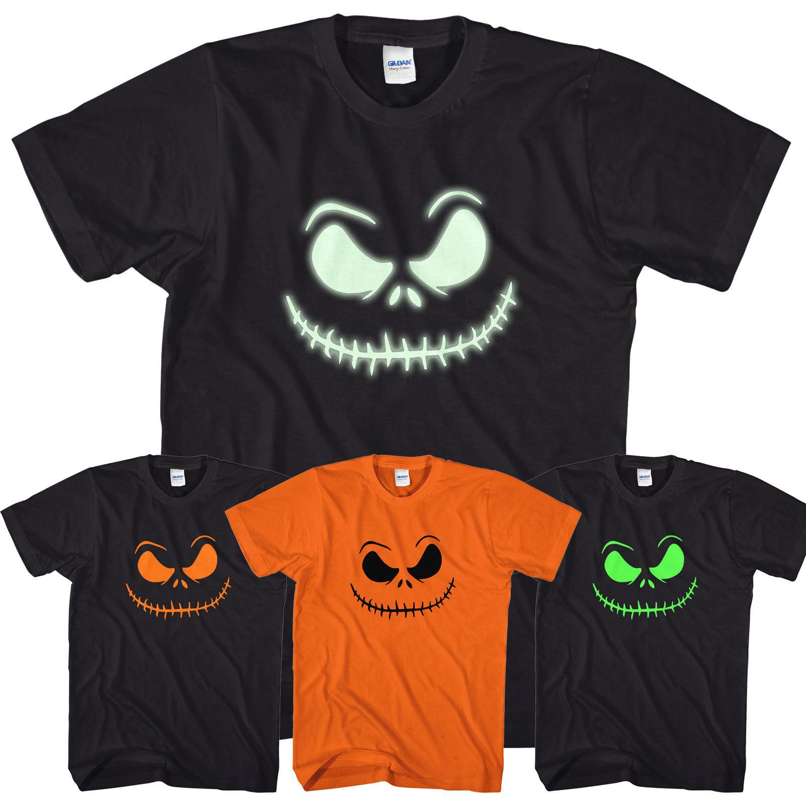 4798d197ec Smiling Jack T Shirt Scary Halloween Top Glow In The Dark Print O Lantern  L317Funny Unisex Casual Gift Tees Designs Find A Shirt From  Fashionistas_tees, ...