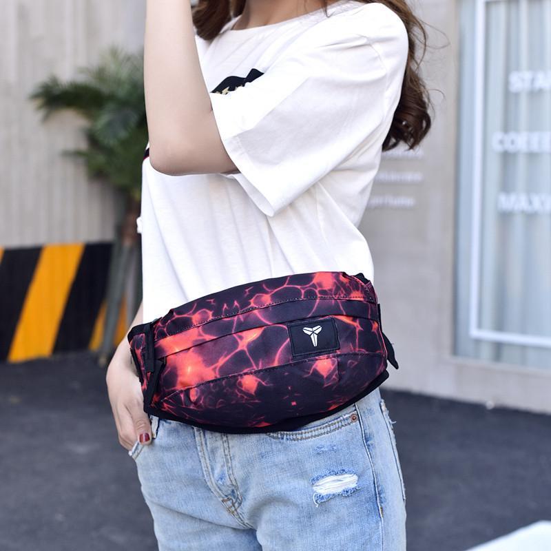 ec1a1823ede1 Waist Bag Unisex Fanny Pack Fashion Waist Men and Women Canvas Hip-Hop Belt  Bag Men Messenger Bags Small Shoulder Bag Sport Waist Bags