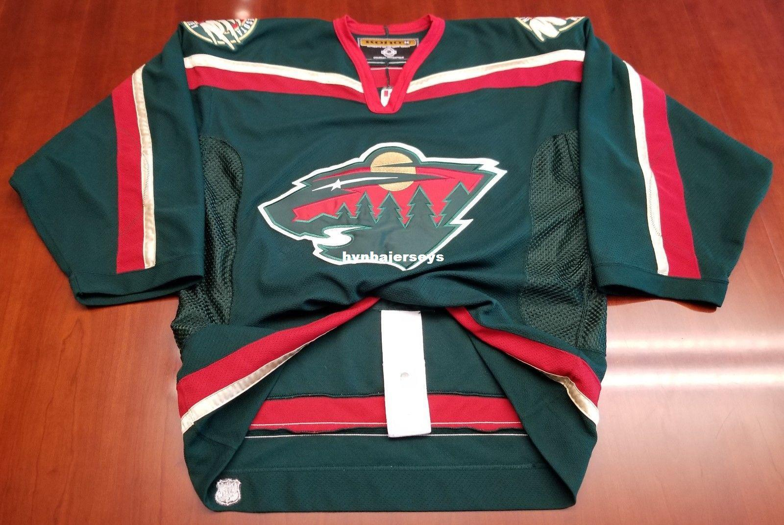 21a7a0f6c Custom Minnesota Wild Vintage Koho Cheap Center Ice Authentic Pro Hockey  Jersey Mens Retro Jerseys UK 2019 From Hynbajerseys