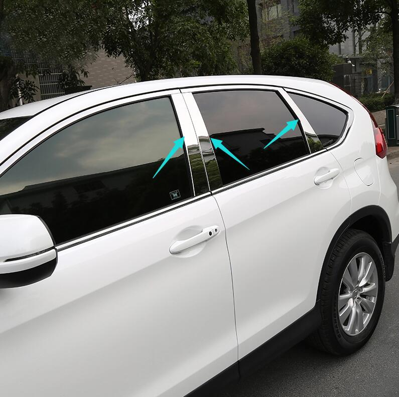 Lovely Accessories Fit For Honda Crv Cr V 2012 2013 2014 2015 2016 Window Chrome  Pillar Posts Cover Trim Molding Garnish Accent Medium Car Cover Mg Car  Cover From ...