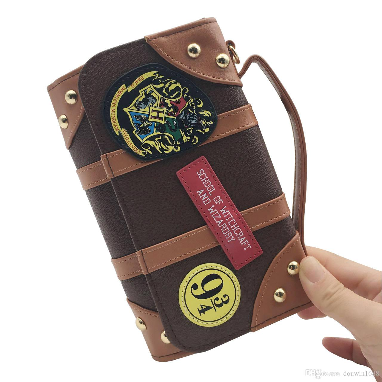 Offical Harry Potter Hogwarts PU Hybrid Bag good quality same day shipping shoulder bags Dual function of tote bag