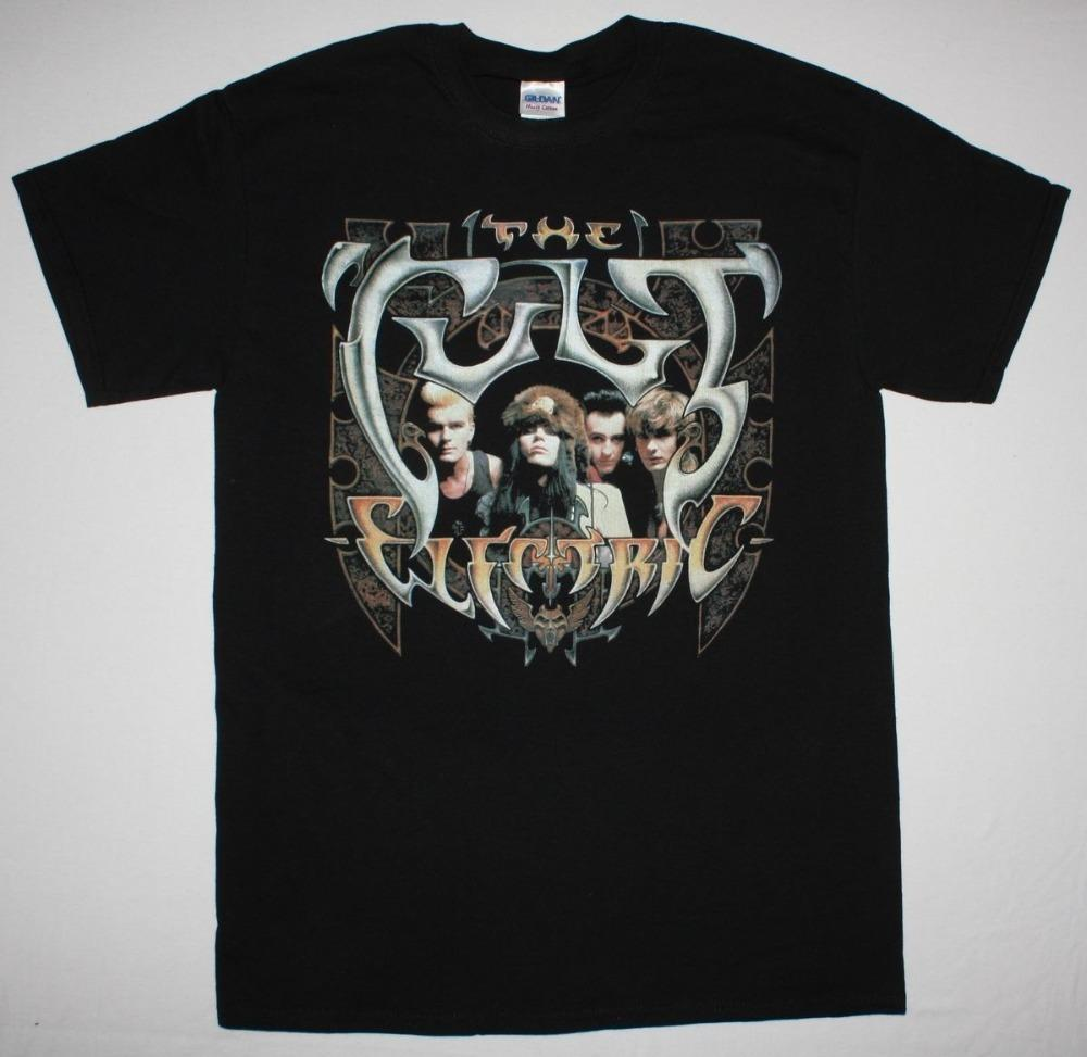 Create Your Own Shirt Design Crew Neck The Cult Electric Short