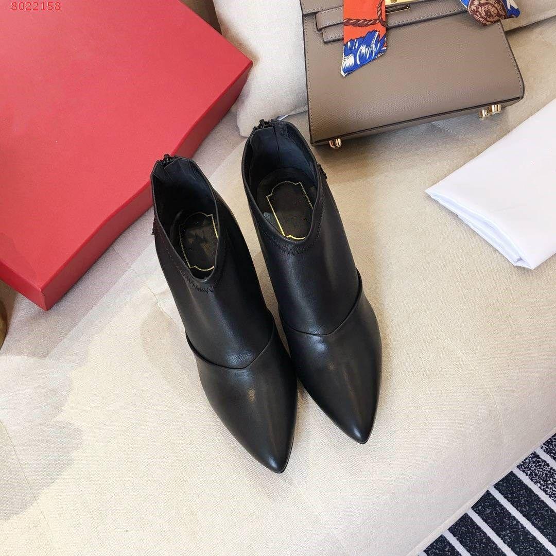 ee09535958e6b9 Großhandel High Heels Absatzhöhe Brand New Launch Leder Mode Stiefel  Schleifen Und Leder Fashion Schöne Rote Und Schwarze Stiletto Schuhe .