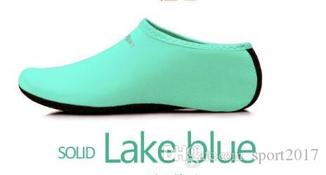 2018 calcetines de buceo deportes acuáticos venta caliente niños adultos antideslizante calcetines de playa tela transpirable secado rápido natación surf traje mojado zapatos