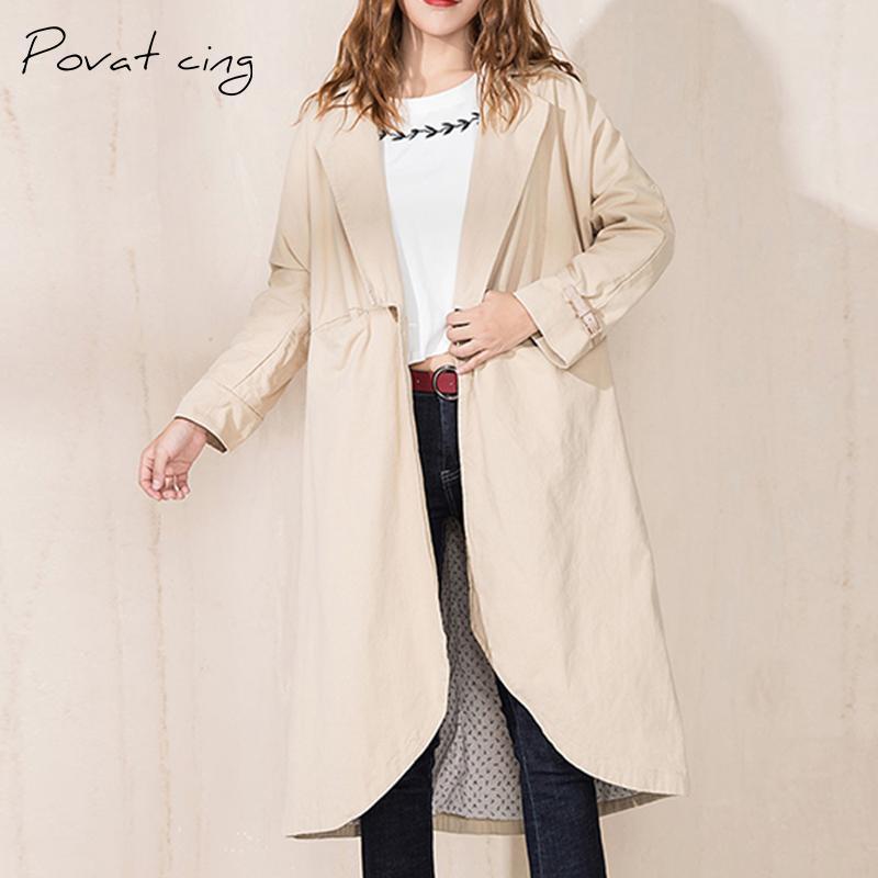 new styles 93643 c56a1 Winter Trenchcoat Frauen Windjacke klassischen langen Mantel Kleidung Damen  moderne Oberbekleidung Frauen Herbst Feminino plus Größe