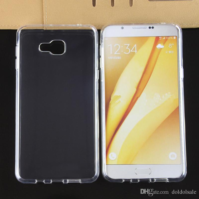 0073ba299b6 Fundas Celular Funda De Cojín De Aire Para Samsung Galaxy A3 A5 A7 A8 A9 A9  Ultra Claro Transparente TPU Suave Contraportada Fundas Para El Celular Por  ...