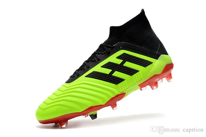 8470d0f73 2018 FIFA World Cup Mens Football Boots High Top Predator Mania Champagne  Falcon 18.1 FG Shoes- LIMITED EDITION