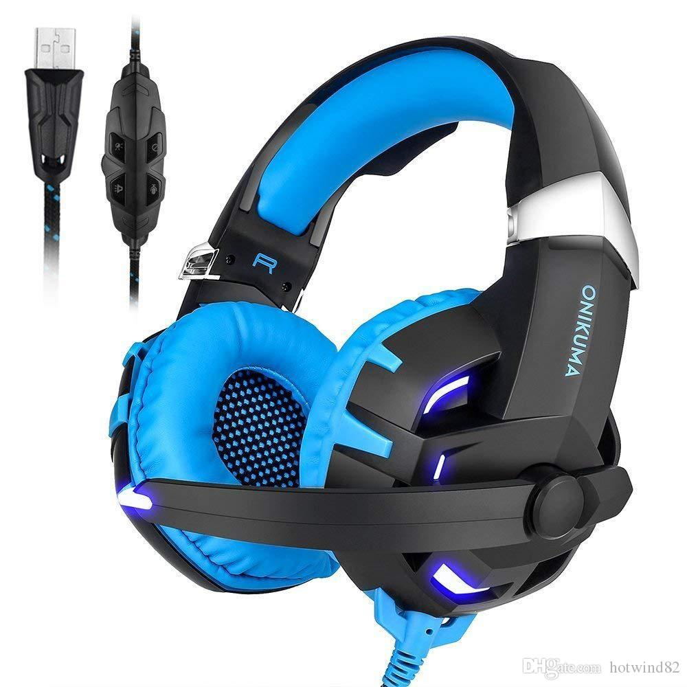 Acquista PS4 Gaming Headset Casque PC Auricolari Stereo Cuffie Con Microfono  Luci A LED Tablet Portatile Nuova Xbox One A  47.49 Dal Hotwind82  8c3a6e67b9aa