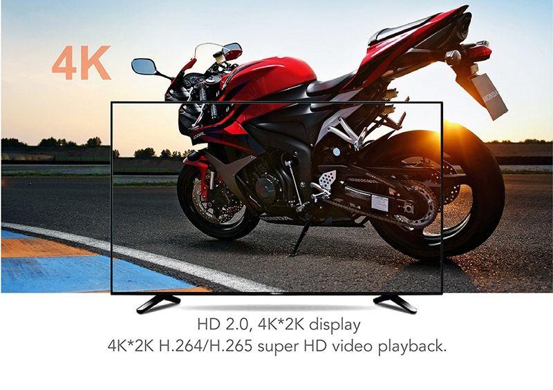 TX3 Mini Android 8.1 Boîte TV AMLOGIC S905W Lecteur multimédia avec écran LED 4K WiFi