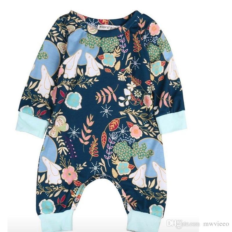 46baa5723fab 2019 Hug Me Baby Rompers Toddler Girls Clothing 2018 Spring Fashion ...