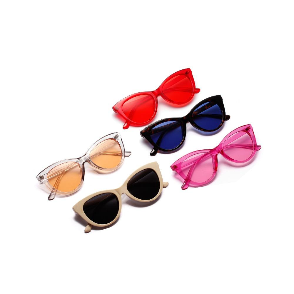 166908e3f9 New Fashion Cute Sexy Ladies Cat Eye Sunglasses Women Vintage Brand ...