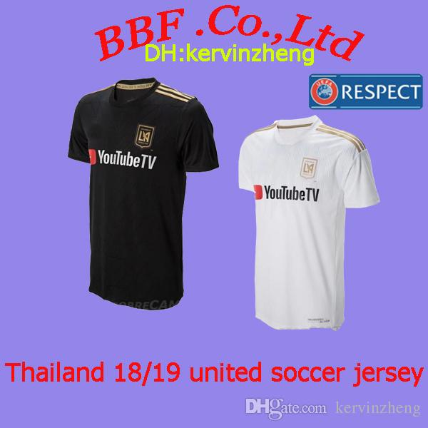2019 Thailand 18 19 Soccer Jersey LAFC Carlos American Football Shirts Los  Angeles FC Gaber Rossi Ciman Zimmerman United State Ropa De Fútbol From ... 2b7706fe8