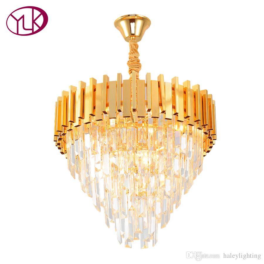 youlaike modern crystal chandelier dining living room gold hanging rh dhgate com