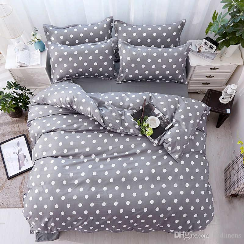 2018 simple dot deer duvet cover pillow cases single twin double rh dhgate com