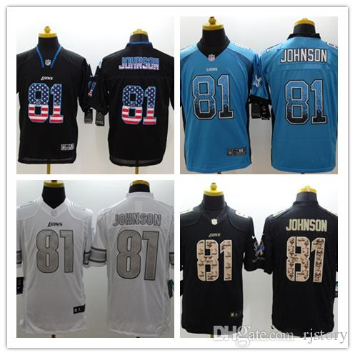 timeless design a3797 2653e closeout detroit lions 81 jersey d8eb8 b64c4