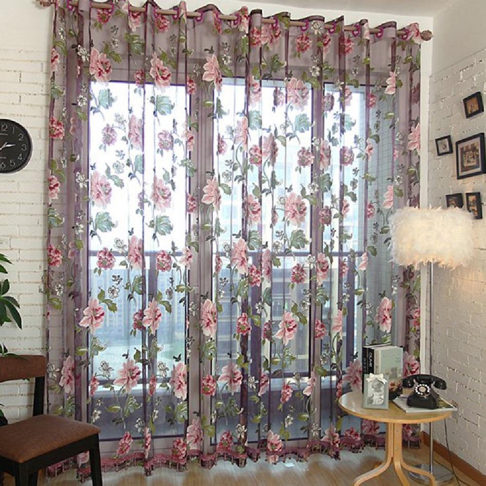 2019 high grade white transparent window gauze sheer curtain rh dhgate com