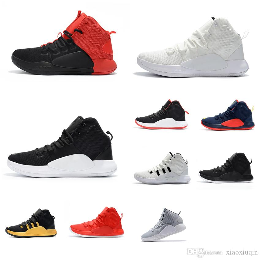 Cheap New Womens Hyperdunk 2018 Basketball Shoes For Sale Grey Red Black  Bred Boys Girls Youth Kids Hyperdunks X 10 Sneakers Boots With Box UK 2019  From ... 7596a50e39