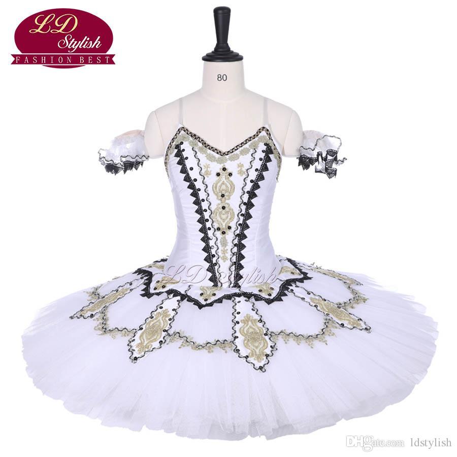 1d5589f40fef70 Nouvelle Arrivée Blanc Professionnel De Ballet Tutu Le Lac Des Cygnes  Spectacle De Scène Porter Femmes Compétition De Danse De Ballet Costumes ...