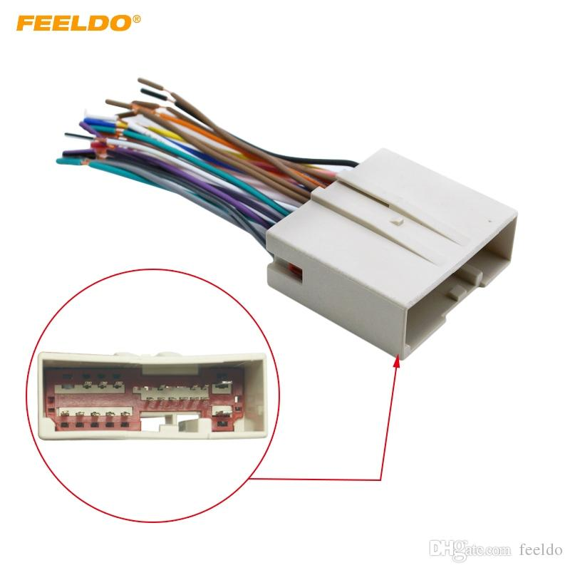 2019 feeldo car radio cd player wiring harness audio stereo wire rh dhgate com