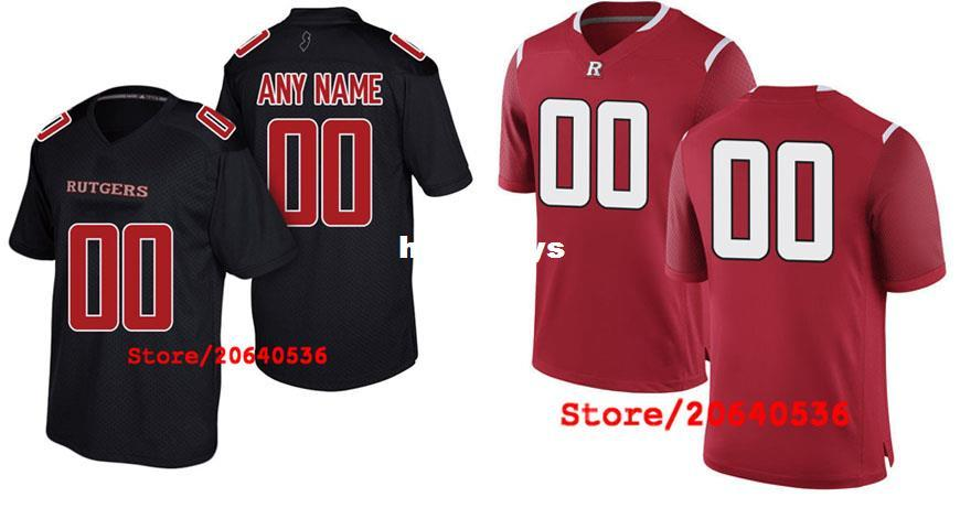 2019 Custom Rutgers Scarlet Knights Scarlet College Jersey Mens Women Youth  Kids Personalized Any Number Of Any Name Stitched Football Jerseys From ... f9c9675c771