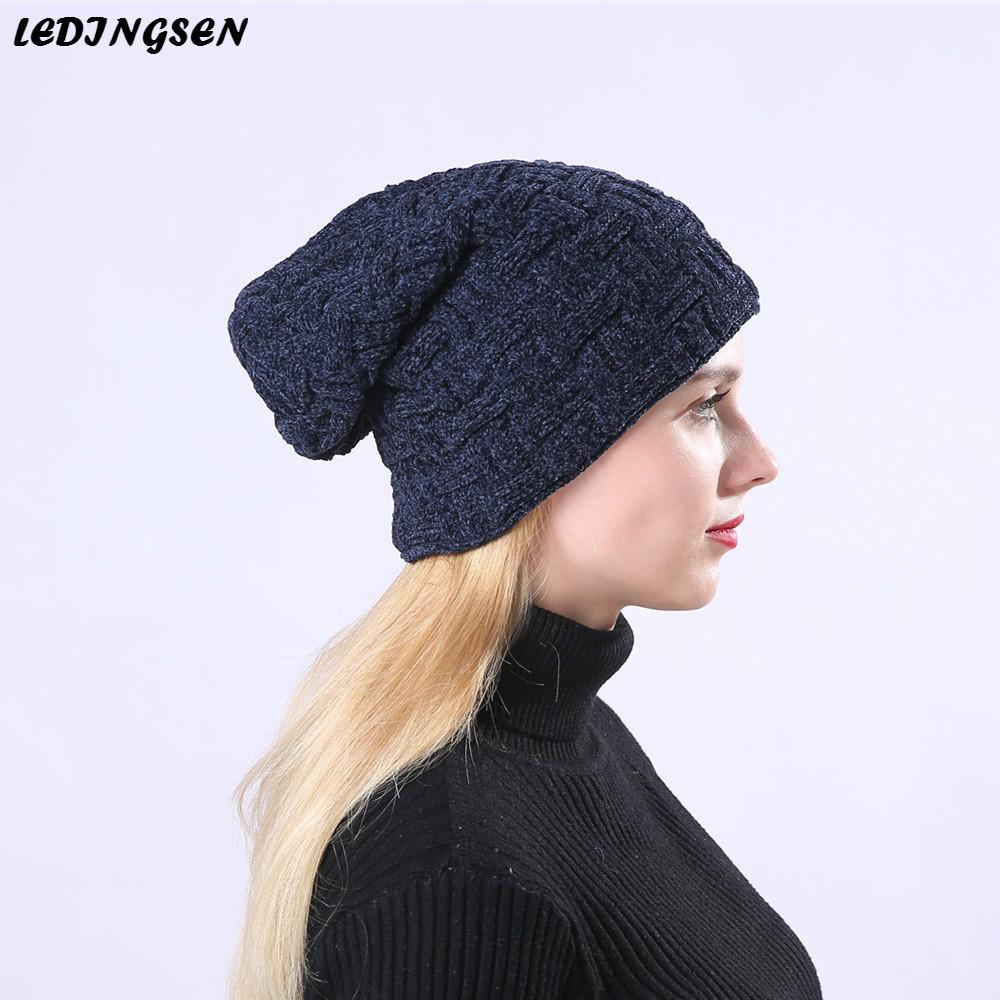 33809ca72b9 2019 Hip Hop Women S Winter Caps For Boys Unisex Warm Thicker Solid Color  Knitting Skullies Beanies Girls Winter Beanie Hat Bonnet From Bdsports